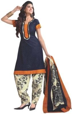Fashionsurat Cotton Printed Salwar Suit Dupatta Material