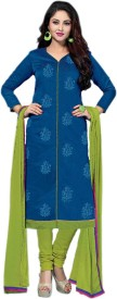 Araadhya Creations Chanderi Self Design Suit Fabric(Un-stitched)