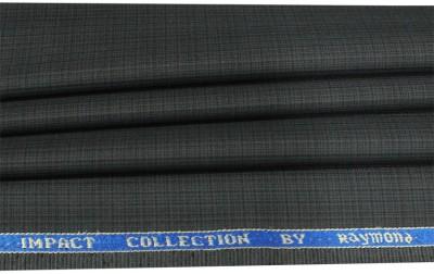 Raymond Home Cotton Polyester Blend Self Design Trouser Fabric