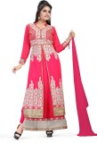 Glory Empire Georgette Embroidered Salwa...