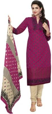 Sharvi Cotton Printed Salwar Suit Dupatta Material