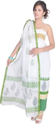 Aaditri Clothing Chanderi Self Design Salwar Suit Dupatta Material