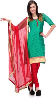 PinkShink Cotton Solid Salwar Suit Dupatta Material