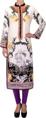 Satnam Crepe Printed Kurti Fabric