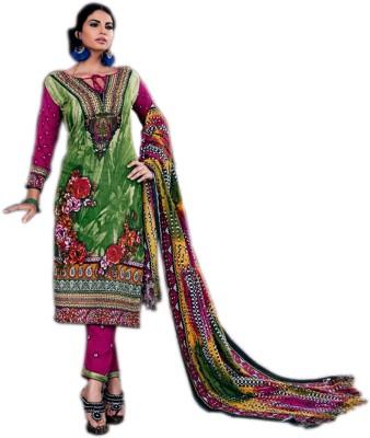 Araadhya Creations Pashmina Printed Salwar Suit Material(Un-stitched)
