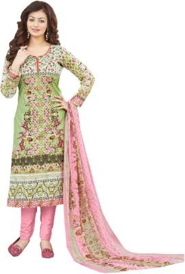 Shahlon Georgette Embroidered Salwar Suit Dupatta Material