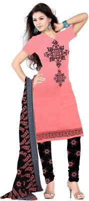 Go4Fashion Cotton Printed Salwar Suit Dupatta Material