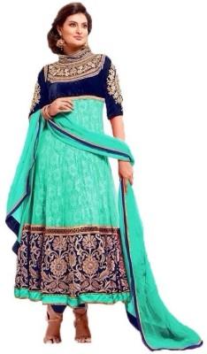 Pariangel Trendz Chiffon Embroidered Salwar Suit Dupatta Material