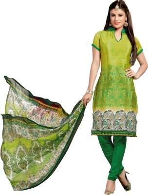 Melluha Fashion Silk Printed Salwar Suit Dupatta Material