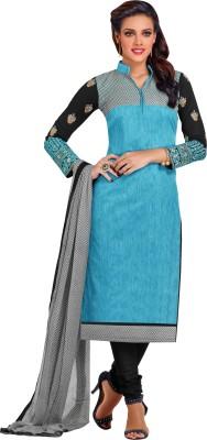 Hitansh Chanderi Embroidered Salwar Suit Dupatta Material