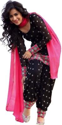 Fashionsurat Cotton Embroidered Salwar Suit Dupatta Material