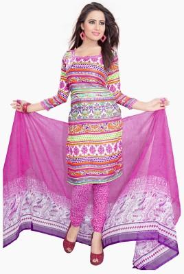 Bapa Sitaram Fashion Crepe Printed Dress/Top Material