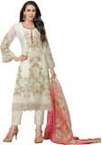 Z Hot Fashion Georgette Embroidered Salw...