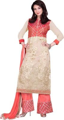 Bhelpuri Net, Georgette Embroidered Dress/Top Material
