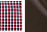 Sahyog Cotton Polyester Blend Checkered,...