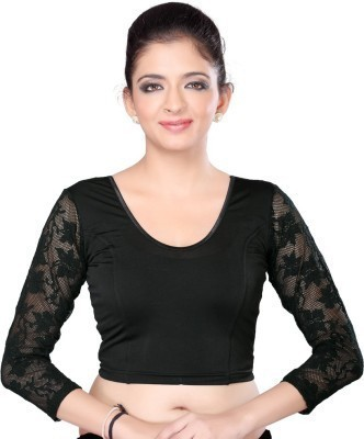 elanlifestyle Cotton Polyester Blend Solid Blouse Material