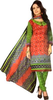 Gayathri Fabrics Cotton Printed Salwar Suit Dupatta Material