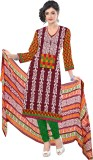 Jiya Cotton Self Design, Printed Salwar ...