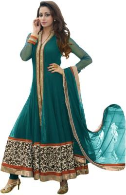 Varni Fashion Net Self Design Salwar Suit Dupatta Material