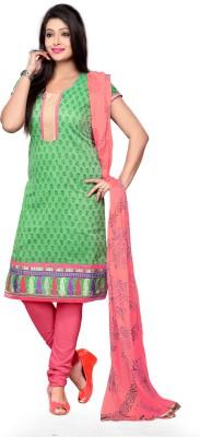 Vimush Fashion Chanderi Printed Dress/Top Material