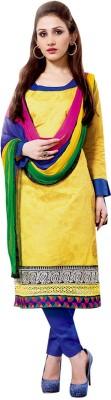 Vogue4all Cotton Printed Salwar Suit Dupatta Material