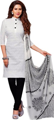 Addictionboutique Georgette Self Design Salwar Suit Dupatta Material