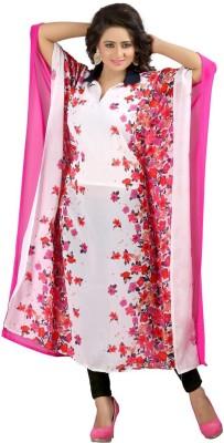 Vaishali Fashion Georgette Floral Print Kurti Fabric
