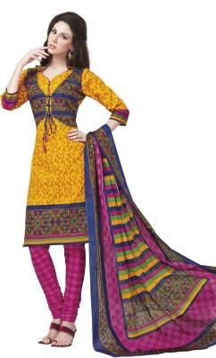 Keerthisfashion Cotton Printed Salwar Suit Dupatta Material