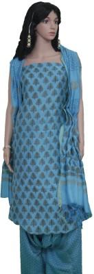 colorsofcraft.com Cotton Floral Print Salwar Suit Material