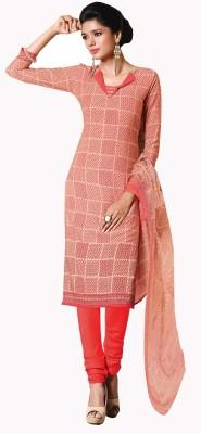 Khushali Crepe Self Design, Printed Salwar Suit Dupatta Material