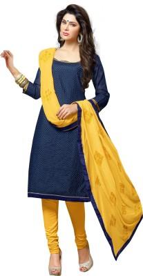 We Desi Chanderi Printed Salwar Suit Dupatta Material