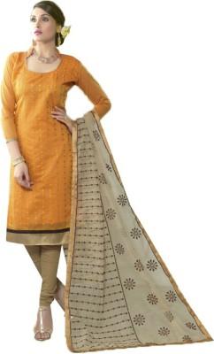 Cilver Fashion Cotton Self Design Salwar Suit Material
