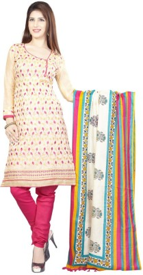 Styles Closet Cotton Embroidered Salwar Suit Dupatta Material