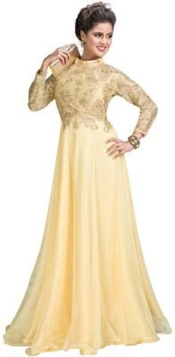 SMARTLOOK Net Embroidered Salwar Suit Dupatta Material