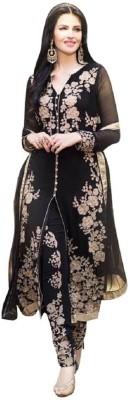 Jin Kushal Nx Georgette Embroidered Salwar Suit Dupatta Material