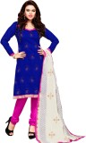 The Four Hundred Chanderi Embroidered Sa...