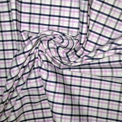 f-star collection Cotton Checkered Multi-purpose Fabric(Un-stitched)