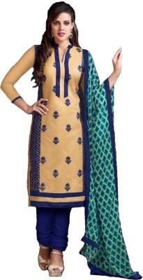 Pehnaari Chanderi, Cotton, Chiffon Printed Salwar Suit Dupatta Material