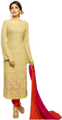 StyleFunia Chiffon Embroidered Dress/Top Material