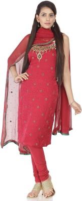 Chhabra 555 Crepe Printed Salwar Suit Material