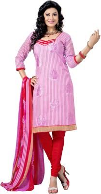 We Desi Chanderi Self Design Salwar Suit Dupatta Material
