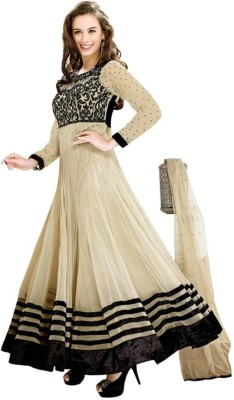 N Paraswanath Georgette Embroidered Salwar Suit Dupatta Material