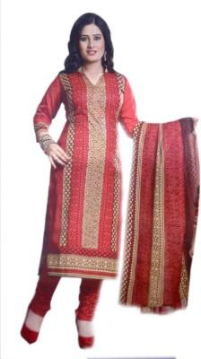 Abhinav Collction Cotton Printed Salwar Suit Dupatta Material