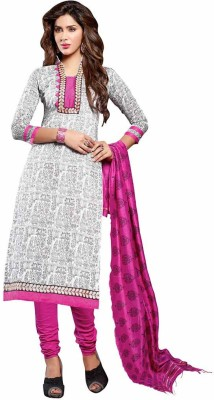 Pulin Cotton Linen Blend Solid Salwar Suit Dupatta Material
