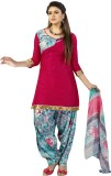 Manthan Satin Printed Salwar Suit Dupatt...