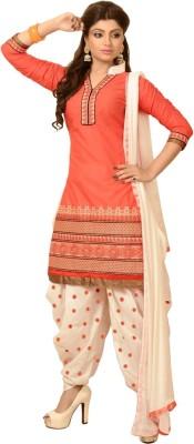 Rahi Cotton Embroidered Salwar Suit Dupatta Material