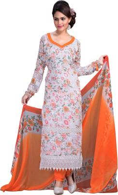 Vogue Era Jacquard Printed Dress/Top Material
