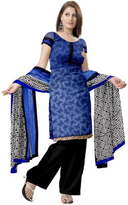 Glitters Cotton Printed Salwar Suit Dupatta Material