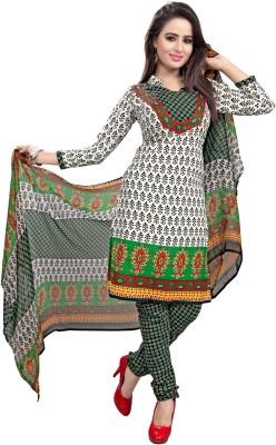 West Turn Crepe Printed Salwar Suit Dupatta Material