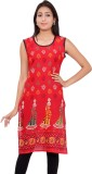 Kurti Studio Cotton Floral Print Dress/T...